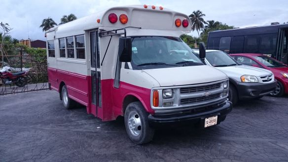 Bus for Belize