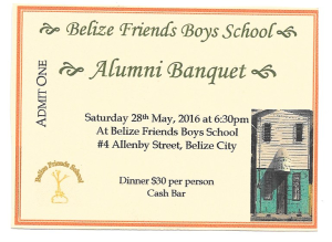 Alumni Banquet Ticket