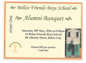 Alumni Banquet Ticket