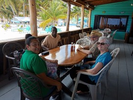 2018 04 18 on Caye C with Candi, Oscar, Eden 5419834976172507136_o