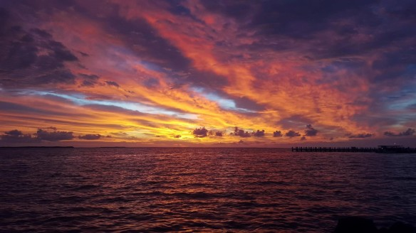 Dale sunrise in Belize